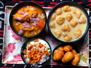 Protein-Recipes with Vada batter