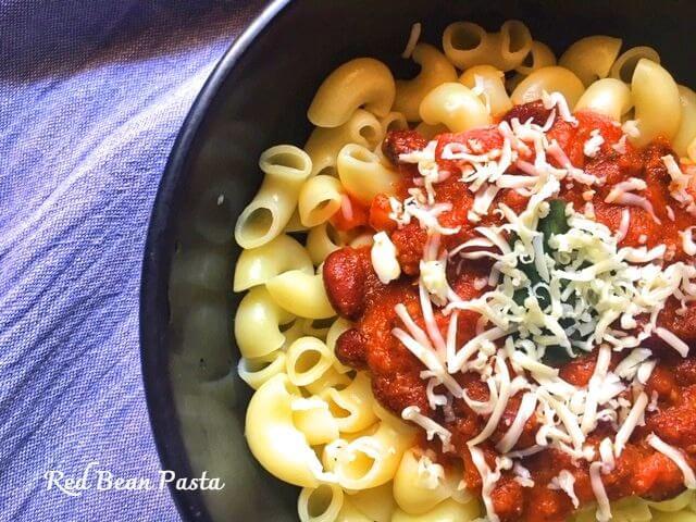 Red Bean Pasta