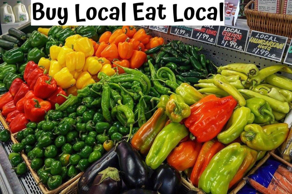 Buy local Eat Local