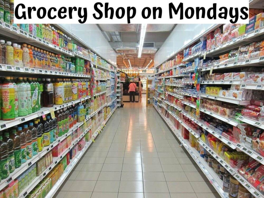 Grocery Shop on Mondays