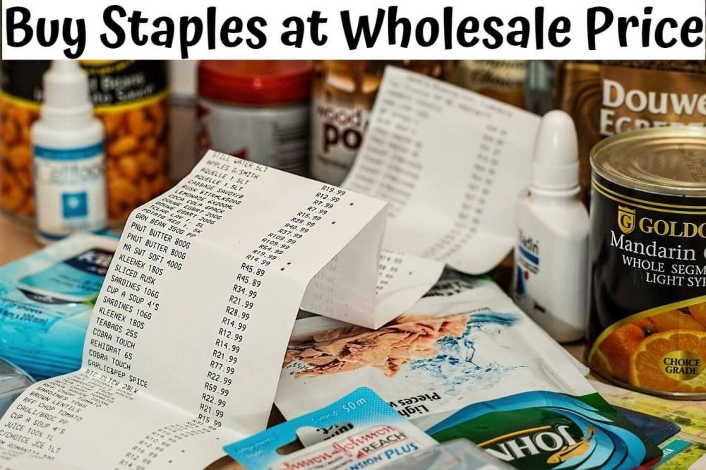 Staples Wholesale Price