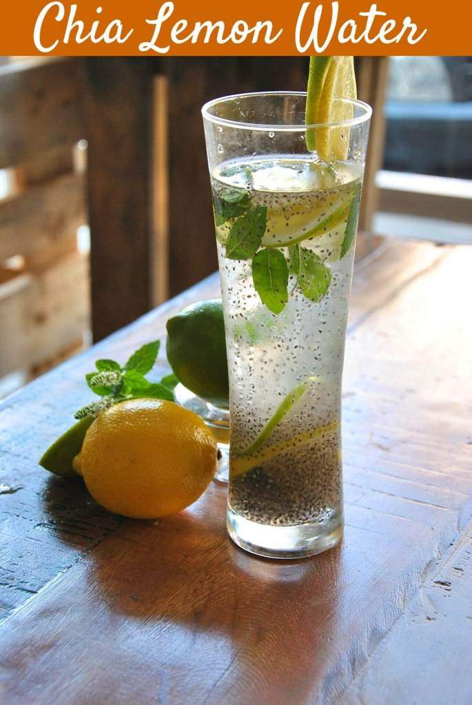 Chia Lemon Water