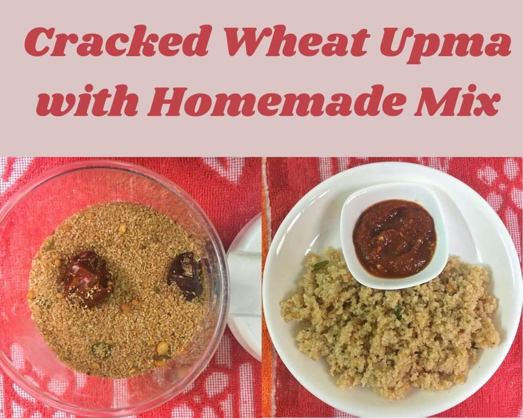 cracked wheat upma mix