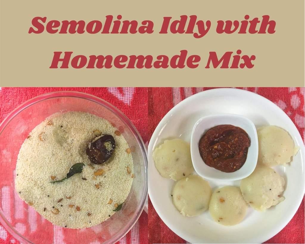 semolina Idly Mix