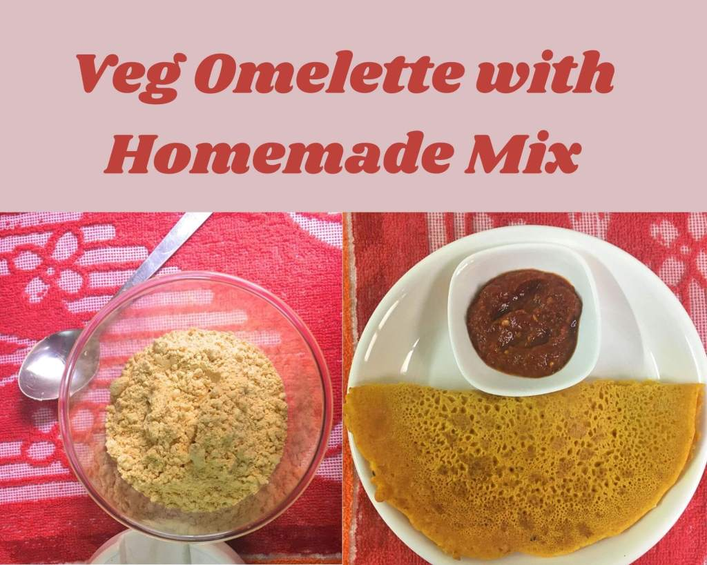 veg omelet mix