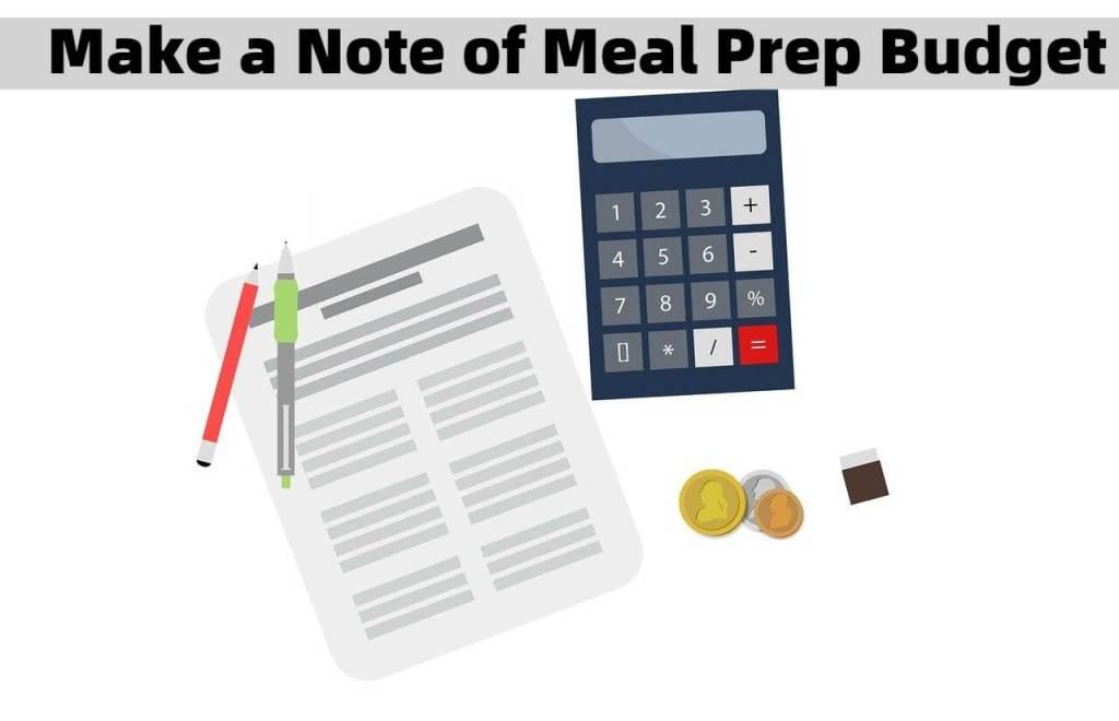 Meal Prep Budget