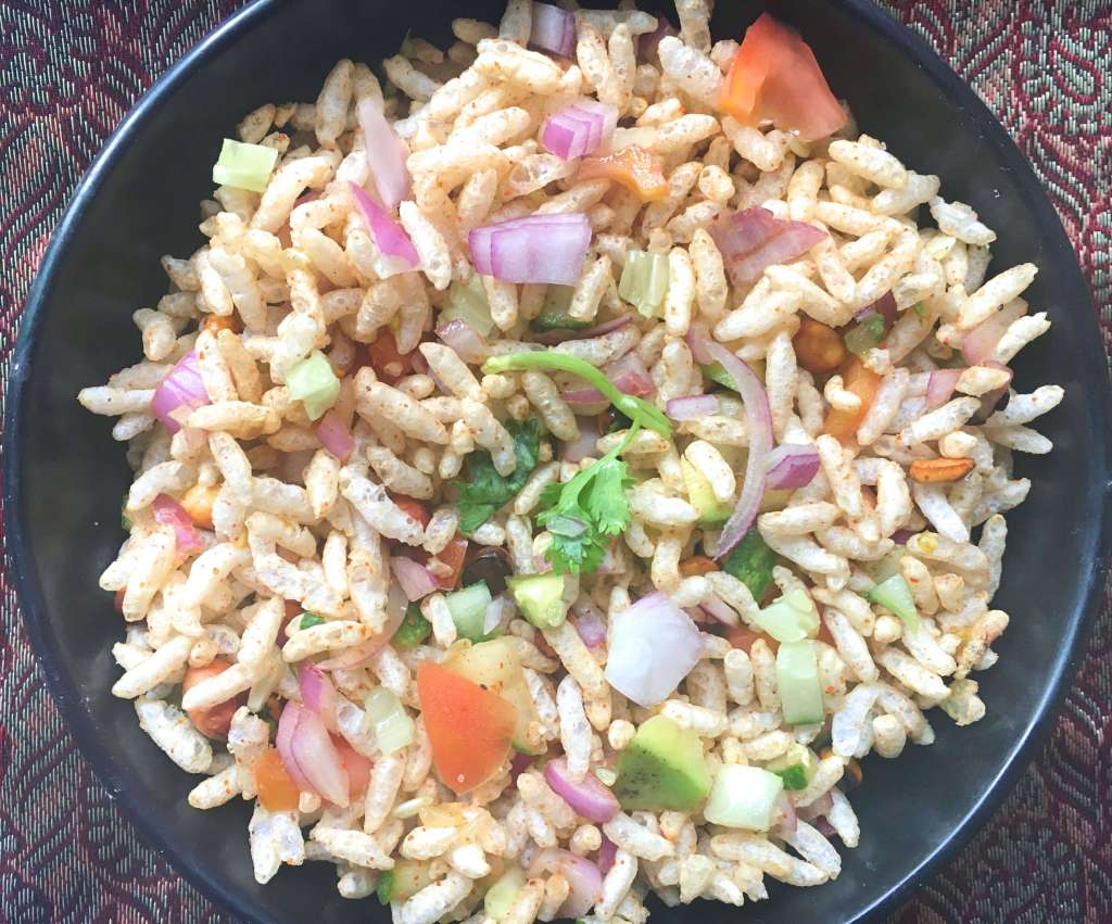 Puffed Rice Chat