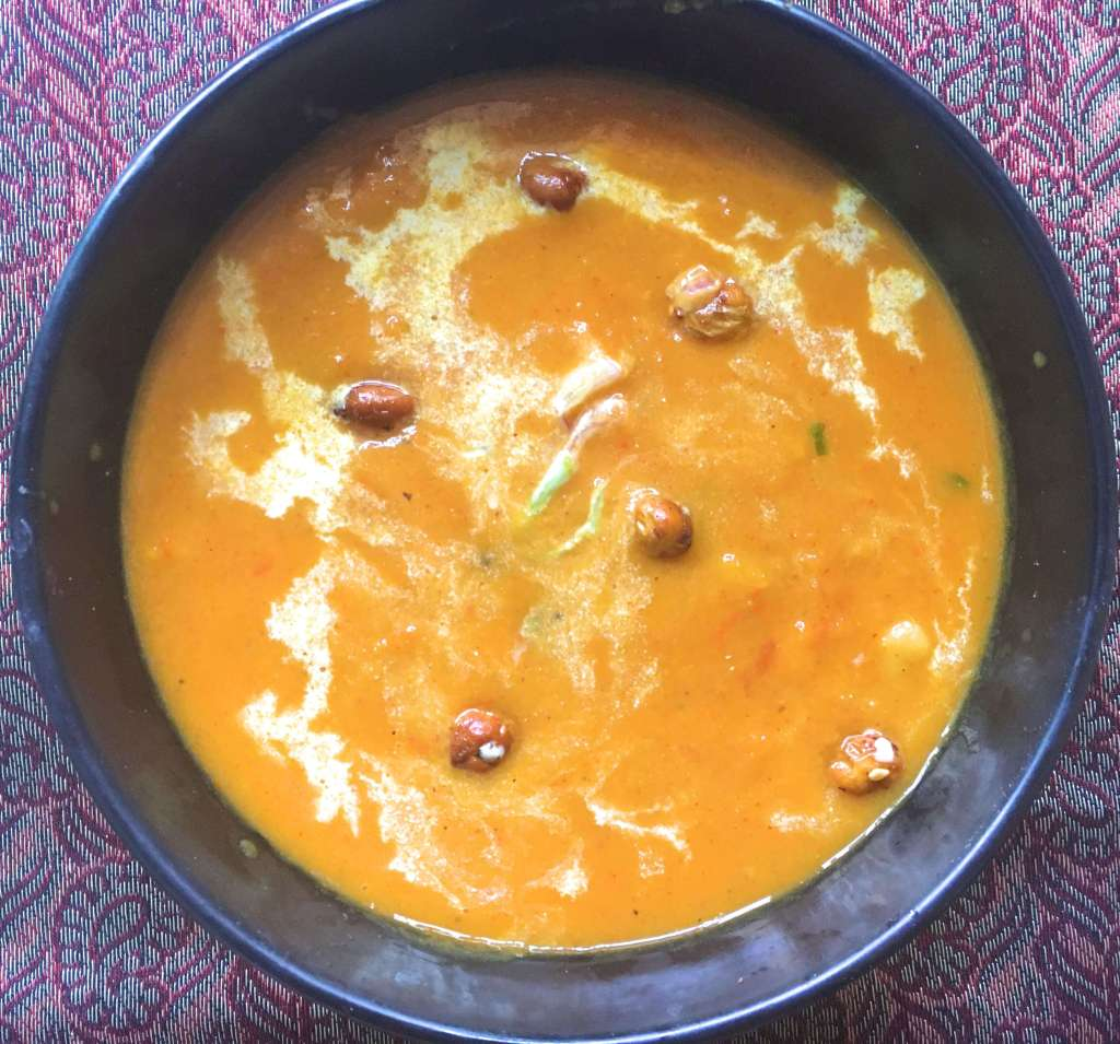 Sweet Potato Chickpea Soup