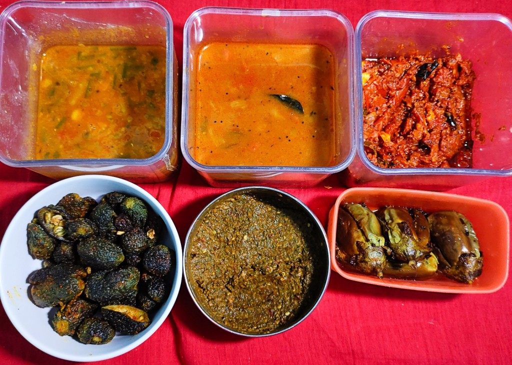 Indian Cooked Food Meal Prep