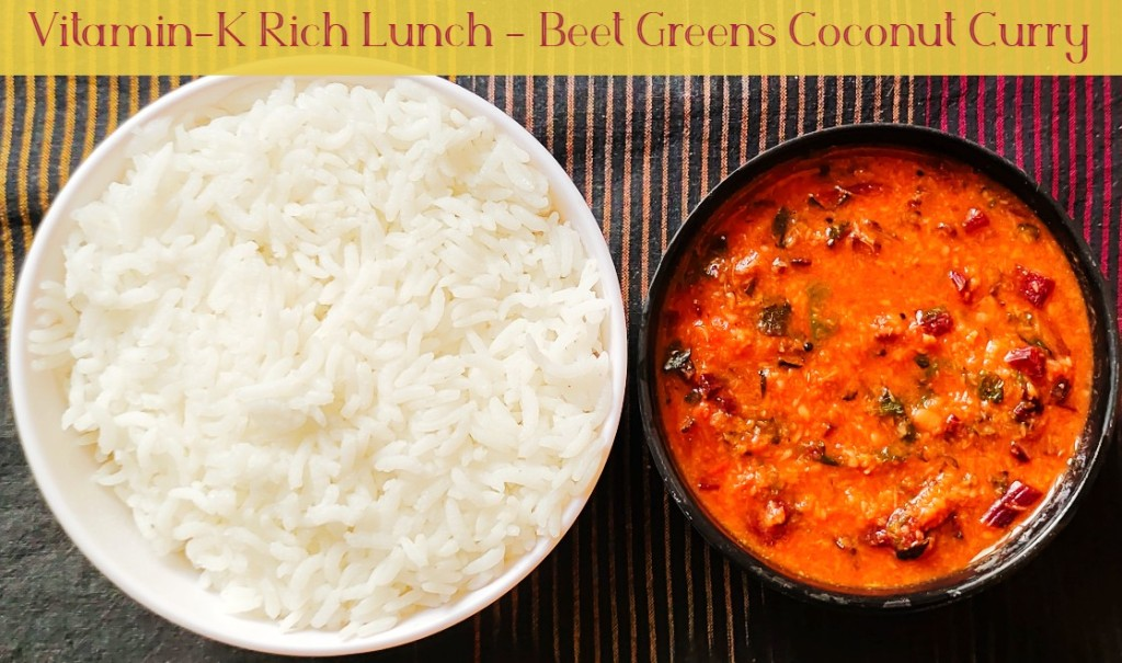 Beet Greens Curry