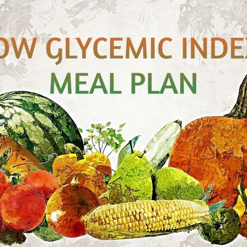 Low GI Meal Plan